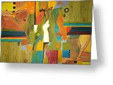 Fragments Number 10 Greeting Card