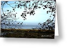 Framed On Penobscot Bay Greeting Card