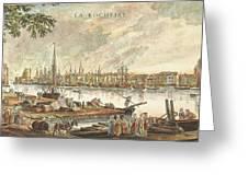 France: La Rochelle, 1762 Greeting Card