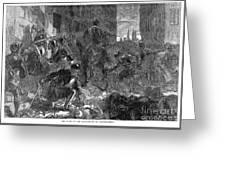 France: Massacre, 1572 Greeting Card