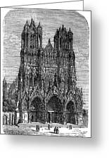 France: Reims Cathedral Greeting Card