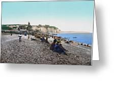 France: Resort, C1895 Greeting Card