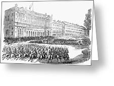 France: Revolution Of 1848 Greeting Card