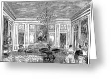 France: Royal Visit, 1855 Greeting Card
