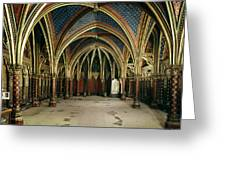 France: Ste. Chapelle Greeting Card