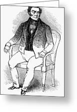 Francois Vidocq (1775-1857) Greeting Card