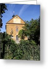 Franconian Village Church Greeting Card
