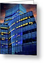 Frank Gehrys Iac Building Greeting Card