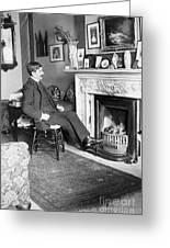 Frank Harris (1854-1931). American Writer Born In Galway, Ireland Greeting Card