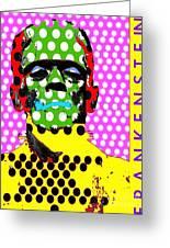 Frankenstein Greeting Card by Ricky Sencion
