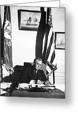 Franklin D. Roosevelt, 32nd American Greeting Card