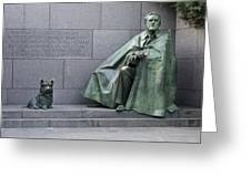 Franklin Delano Roosevelt Memorial - Washington Dc Greeting Card by Brendan Reals