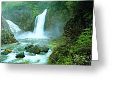 Franklin Falls   Greeting Card