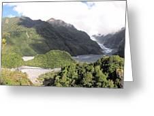 Franz Josef Glacier Nz Greeting Card