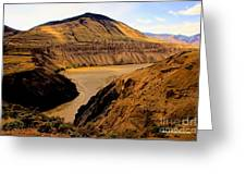 Fraser River Banks Greeting Card