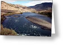 Fraser River Greeting Card