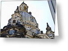 Frauenkirche - Dresden Germany Greeting Card