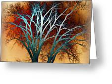 Freaky Tree 1 Greeting Card