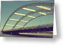 Freddie Sue Bridge Greeting Card by Kristen Cavanaugh