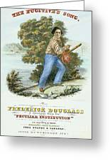 Frederick Douglass Greeting Card by Granger