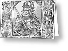 Frederick I Barbarossa Holy Roman Emperor Greeting Card