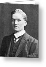 Frederick Soddy, English Radiochemist Greeting Card
