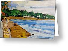 Frederiksted By The Pier Greeting Card