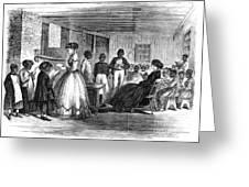 Freedmen School, 1866 Greeting Card by Granger