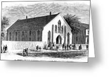 Freedmen School, 1867 Greeting Card