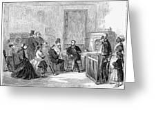 Freedmens Bureau, 1867 Greeting Card