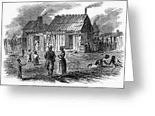 Freedmens Village, 1866 Greeting Card by Granger