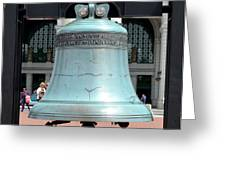 Freedom Bell Greeting Card