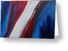 Freedom Of Abstraction Greeting Card