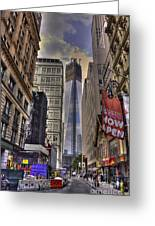Freedom Tower Rising Greeting Card