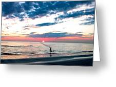 Freeze The Moment Greeting Card