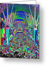 Fremont Street Experience Nevada Greeting Card