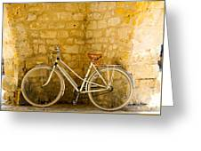 French Bicycle Greeting Card by Georgia Fowler