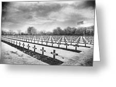 French Cemetery Greeting Card by Simon Marsden