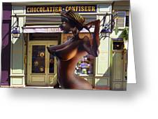 French Chocolate Greeting Card