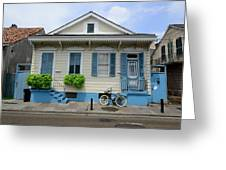 French Quarter Home Greeting Card
