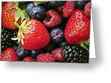 Fresh Berries Greeting Card
