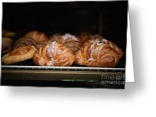Fresh Croissants Paris Greeting Card