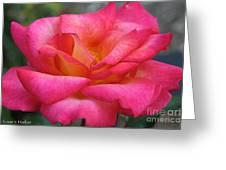 Fresh Floral Greeting Card