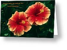 Friends Make The Path Greeting Card