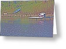 Friendship Lake 4 Greeting Card