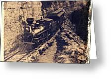 Frisco Steam Train Greeting Card