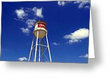Frisco Texas Water Tower Greeting Card