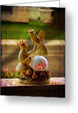 Frog Prince And Fairy Princess Greeting Card