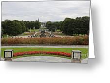Frogner Park Greeting Card