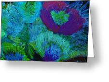 From My Heart Of Rising  Passion Greeting Card